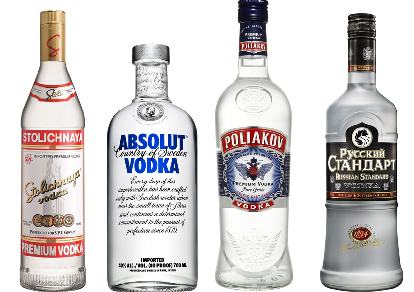 Vodka-Quartet